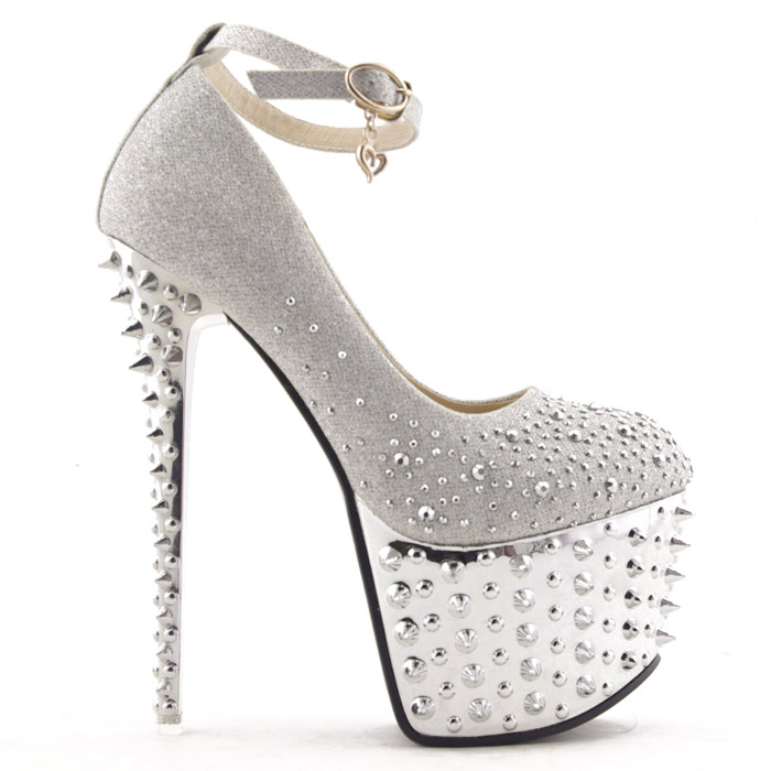 New Bling Princess Diamonds Super Studded Spike Prom Party Queen ...
