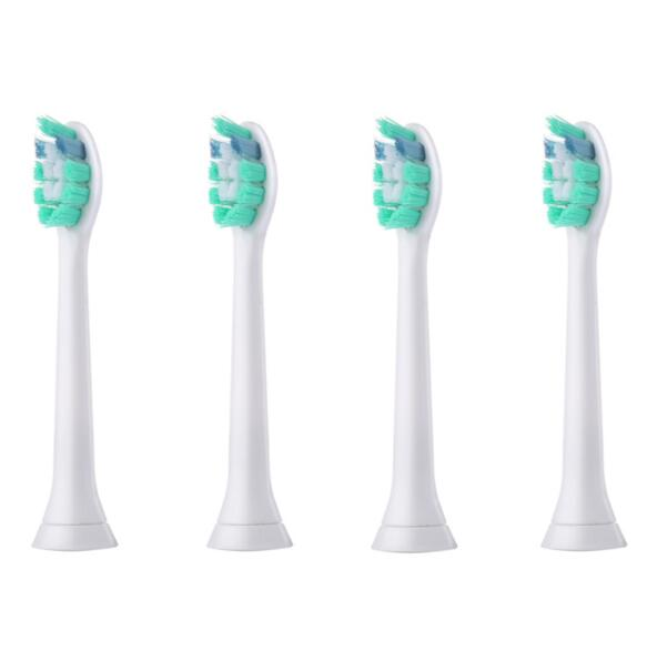 4pcs/set Replacement Electric Toothbrush Heads For Philips Plaque Control HX9024 DiamondClean Fit For Family Adult Use