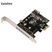 5Gbps PCI Express Controller Card PCI E To 3 External 1 Internal USB 3 0 Type