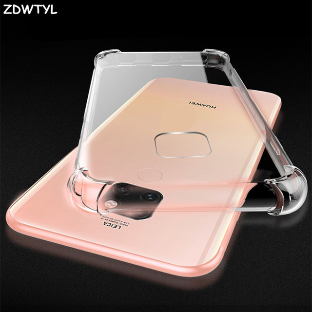 Dành cho Huawei Honor 8 9 10 Lite P9 P10 Plus P20 P30 Giao Phối 20 Pro Lite Ốp Lưng Clear TPU Dành Cho huawei Honor 10 Nova 3 3i Lưng