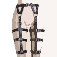 Chastity Lock PU Leather Bondage woman Harness Fetish Restraint Straps Belts Fun Sex Games Adult Toys Locks