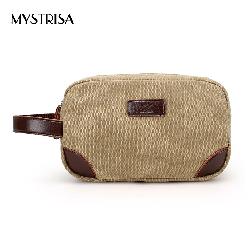M0117 Fashion Man casual Canvas Small Travel Shoulder Phone Bag Men Messenger Bags boys Canvas Day Clutch Bag for business