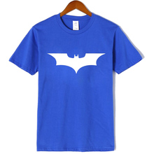 Casual short sleeve t-shirts for men batman print tees male crewneck summer t shirt mens tops cool men clothes  t shirt men