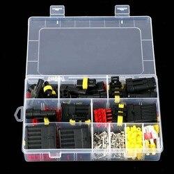 240 szt. Wielokrotny Pin samochodowy wodoodporny elektryczny przewód przyłączeniowy złącze bezpieczniki @ 8 WWO66 w Zaciski od Majsterkowanie na