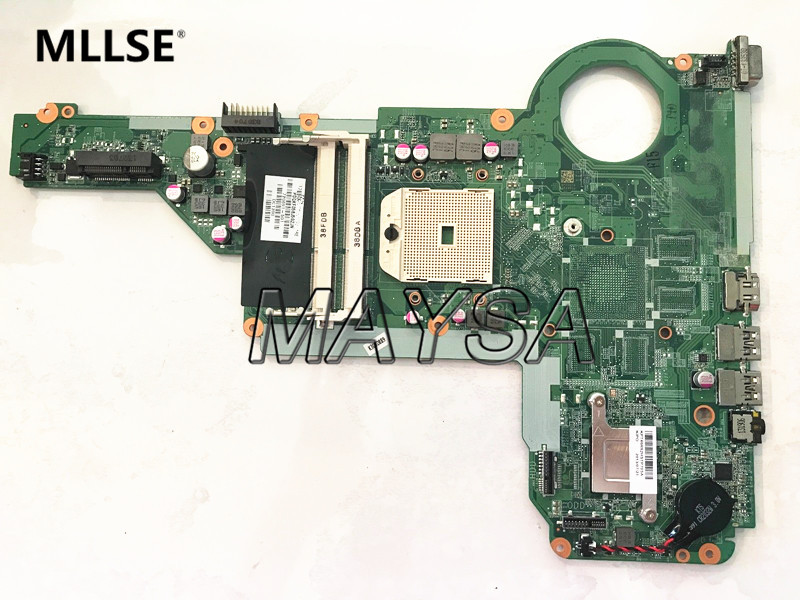 Laptop Motherboard 720691-501 720691-001 Fit For HP PAVILION 17-E 15-E Series NOTEBOOK PC Mainboard DA0R75MB6C1 DA0R75MB6C0 free shipping 749753 501 749753 001 aptop motherboard for hp envy 15 j series notebook pc 100