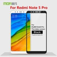 Note5 Pro Original MOFi Redmi Cobertura Completa Tela De Vidro Temperado Film Protector Para Xiaomi Redmi Nota Pro 5 Vidro Temperado filme