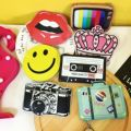 2016 Unisex Casual Limited Lovely Smile To Restore Ancient Ways Camera Zero Cartoon Coin Purse Handbag Bags Of The Little Girl