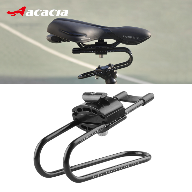 ACACIA Bike Shocks Alloy Spring Steel Bicycle Saddle Suspension Device For MTB Mountain Road Bike Shock Absorber Cycling Parts forfree shipping motorcycle street bike refires aluminum alloy thickening large shock absorption device beightening 5cm elevator