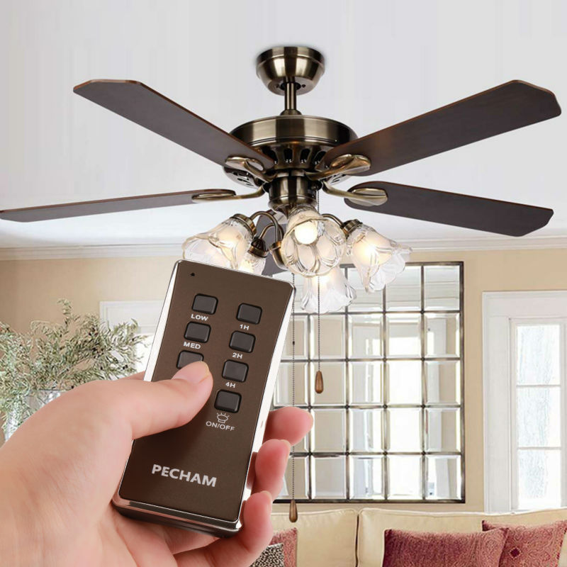 shop harbor white speed wireless ceiling pd remote fan amp control breeze
