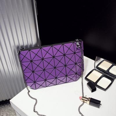 Diamond Lattice Famous Fold Over Bags Brand Bao Bao Women Handbags Shopper Bag Shoulder Bags Totes Sac Bolso Checked Bag