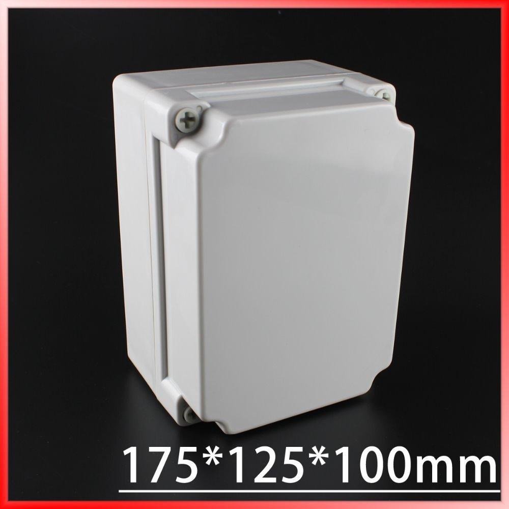 цена на 175*125*100MM IP67 Waterproof Plastic Electronic Project Box w/ Fix Hanger Plastic Waterproof Enclosure Box Housing Meter Box