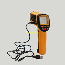 On sale Benetech GM1651 USB Digital non-contact IR infrared thermometer 50:1 Laser Sensor gun Temperature Meter -30~1650C Without BOX