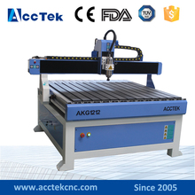 Chinese homemade Manufacturer price wood lathe/milling/engraving machine AKG1212 for wood/marble/metal