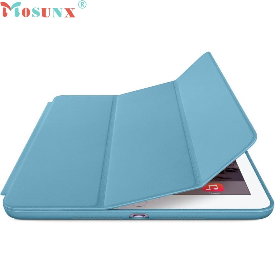 TOP QUALITY For iPad mini Smart Case 4 Folding Flip Leather Cover Magnetic Stand Shell with Sleep Wake APR 7
