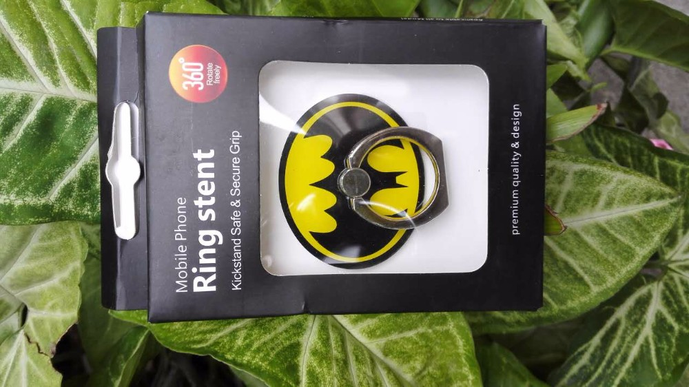 87411debf ... 360 degree Universal Holders Batman Captain American Pokemons 3D Finger  Ring For Oppo f1s Samsung Iphone. High quality! Many more designs have! 2 3  4 ...