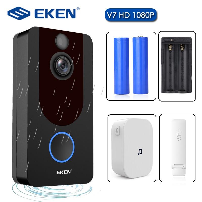 Eken V7 Hd 1080p Smart Wifi Video Doorbell Camera Visual