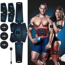 EMS Muscle Stimulator Abdominal Muscle Trainer Electrostimulation Vibrating Exercise Vibration Body Slimming Machine Home Gym