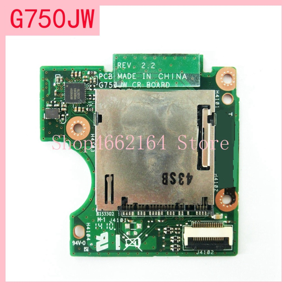 For <font><b>Asus</b></font> <font><b>ROG</b></font> G750 G750J <font><b>G750JX</b></font> G750JM G750JH G750JW G750JS G750JZ DC Power Jack Board Socket Switch Button image