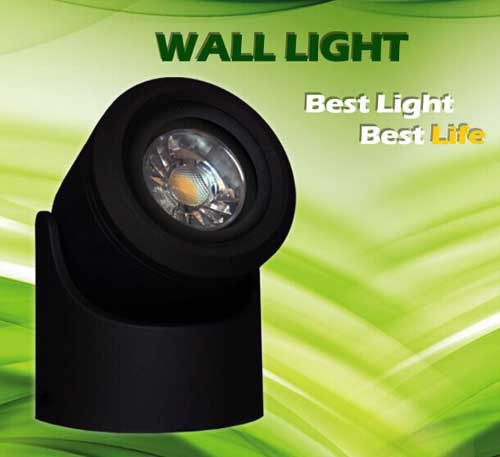 ФОТО New Arrival 90x130mm LED Waterproof Outdoor ceiling Wall Light 3w IP65 Aluminum one sided led wall Lamp