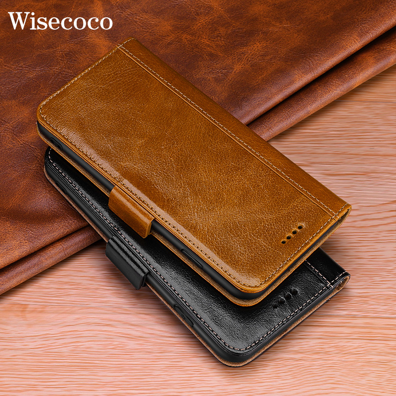 Luxury Genuine Leather Flip Case for Samsung Galaxy S10 S10E Note 9 8 S9 S8 Plus S10plus Magnetic Card Holder Wallet Book CoverLuxury Genuine Leather Flip Case for Samsung Galaxy S10 S10E Note 9 8 S9 S8 Plus S10plus Magnetic Card Holder Wallet Book Cover