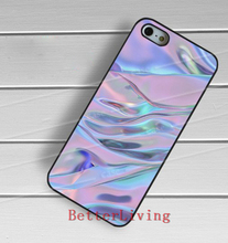 Holographic art fashion cell phone case cover for iphone 4 4s 5 5s 5c SE 6
