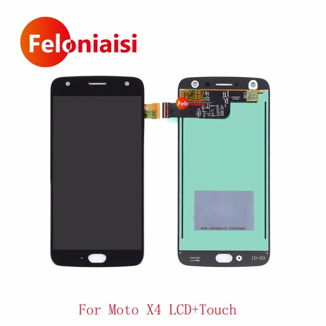 "10Pcs/lot DHL EMS 5.2"" For Motorola Moto X4 Full Lcd Display With Touch Screen Digitizer Sensor Panel Glass Assembly Complete"