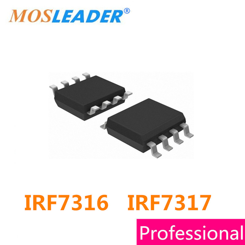 Mosfet SOP8 IRF7316 IRF7317 100PCS 500PCS 2500PCS IRF7316TRPBF IRF7317TRPBF IRF7316T IRF7317T High quality lf353m sop 8