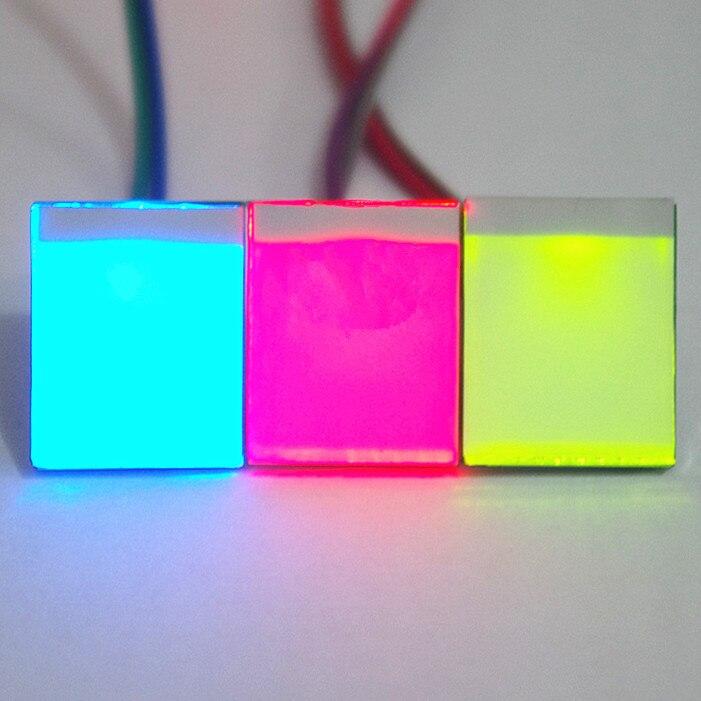 Емкостный модуль сенсорного переключателя, голубой, красный, желтый, зеленый цвет, 1 шт.