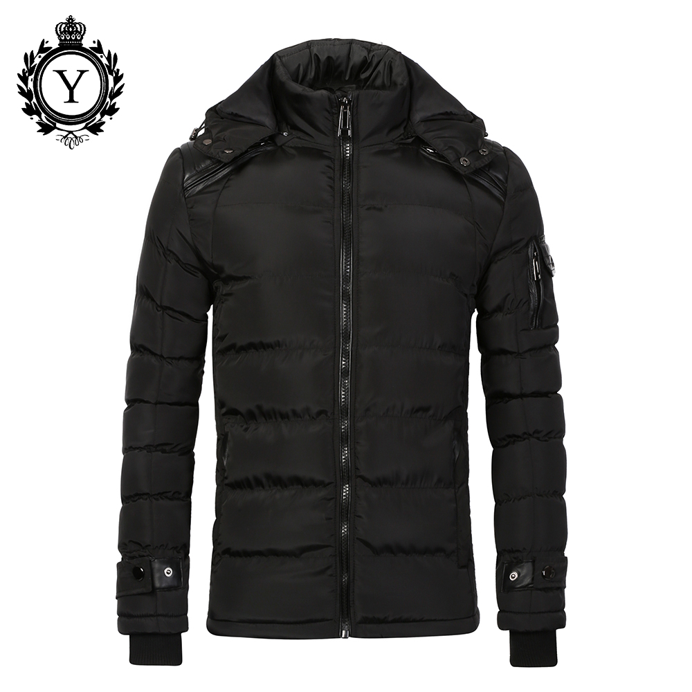 COUTUDI 2016 Cotton Warm Jackets For Mens Black Puffer Down Jacket Coats Waterproof Plus Size Men Winter Coat Male Quality Parka