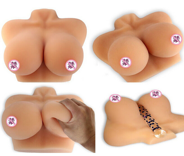 Realistic breast sex toys