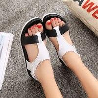 Summer Women Sandals Bohemia High Flat Comfortable Beach Sandal Flip Flops Casual Shoes Sandals Women 2017
