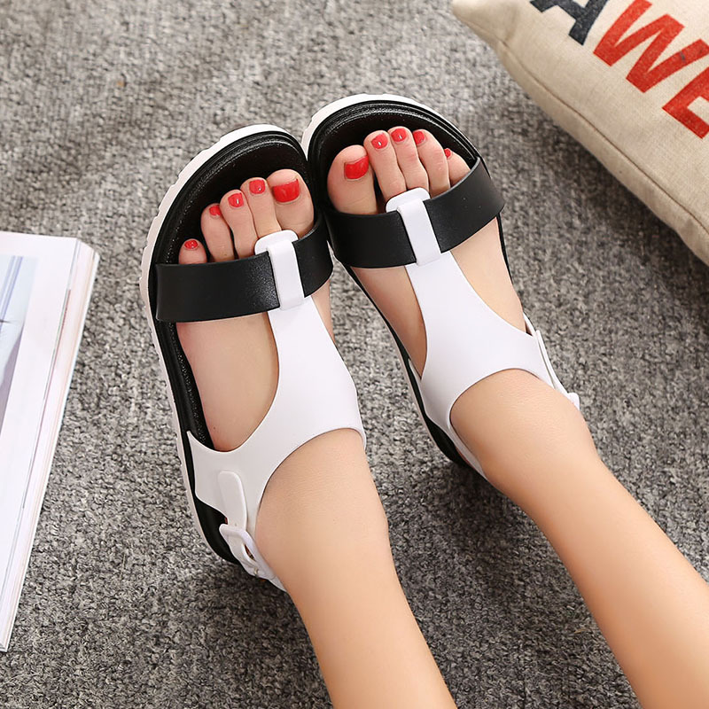 Summer Women Sandals Bohemia Flats Shoes Comfortable Beach Sandal Flip Flops Casual Shoes Gladiator Sandals Women Fashion BT558 rhinestone silver women sandals low heel summer shoes casual platform shiny gladiator sandal fashion casual sapato femimino hot