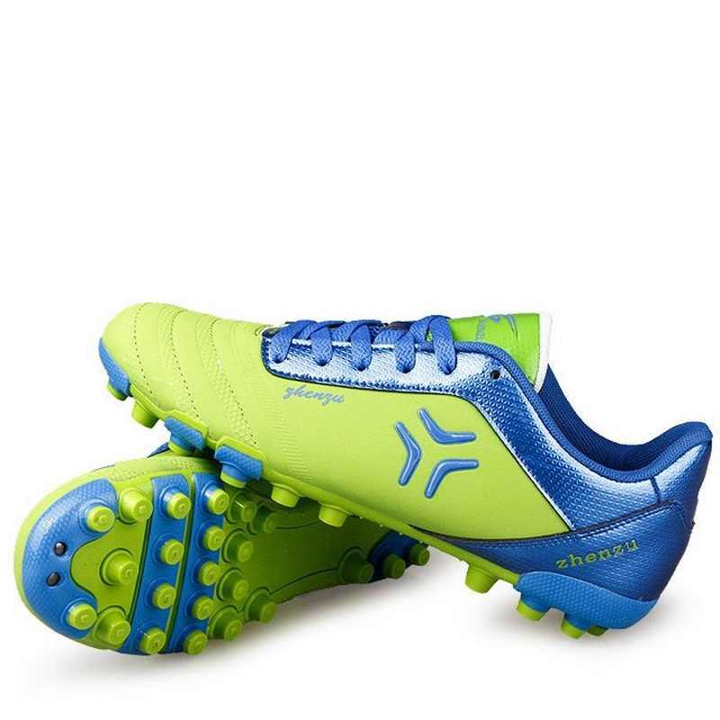 رجل سبيكر أحذية كرة القدم في الهواء الطلق الرجال خفيفة الوزن شبكة أحذية كرة القدم تنفس أحذية رياضية العلامة التجارية درب المدربين AA20150