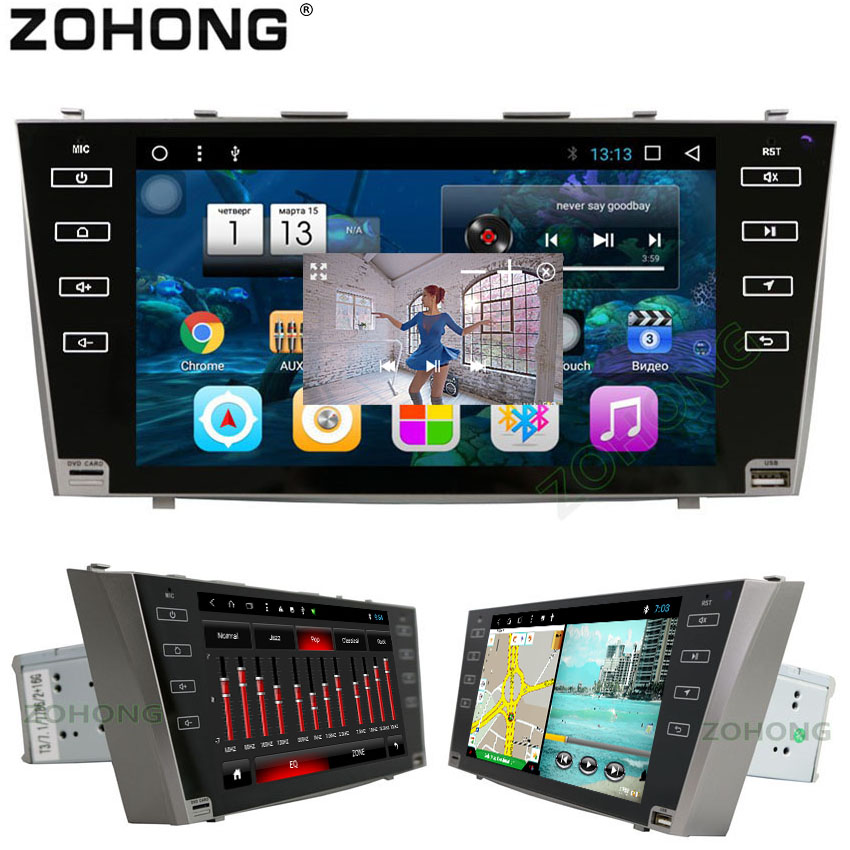 2 din 9inch PIP Octa 8 Core Android CAR DVD Player For Toyota Camry 2007 2008