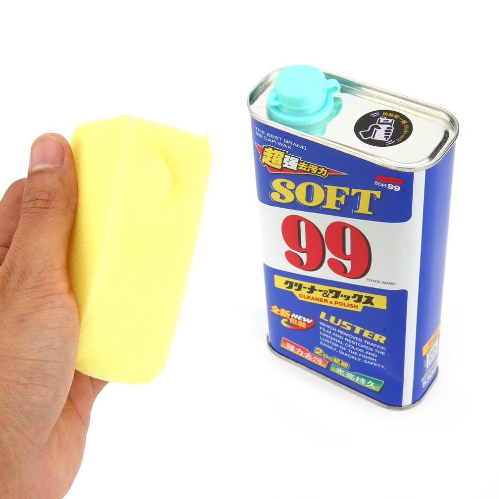 530ml Car Liquid Wax Rectangular Polishing Wax Auto Care Wash Protect Car Coating Scratches Remove Car Paint Repair New