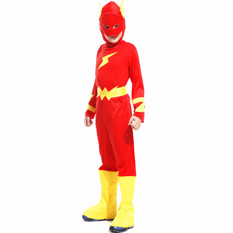 7eb4859b9faf Detail Feedback Questions about New Children Halloween Flash Barry Allen Costume  Kids Super hero Cosplay Carnival Christmas Purim parade Masquerade party ...