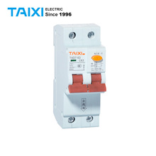 Mini RCBO Circuit Breakers ELCB For Low Voltage 10A 16A 20A 25A 32A 63A With 30mA Leakage 6KA