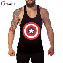 2017 Clothing Fitness Men Tank Tops Muscle Wear Gymclothing Vest Stringer Sportswear Bodybuilding Undershirt Male T Shirt