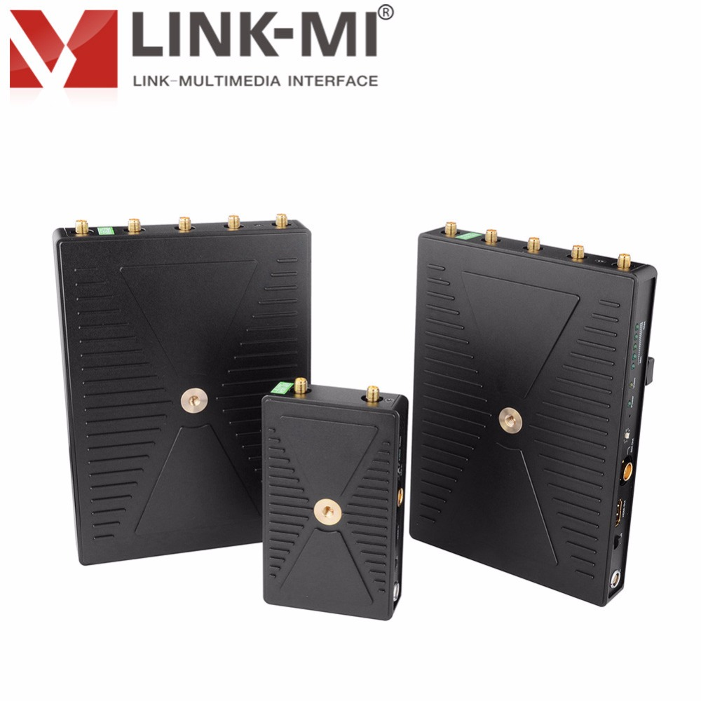 LINK-MI LM-SWHD01 300m WHDI 5GHz HDMI extenter Video Transmission System HDMI / SDI sign ...