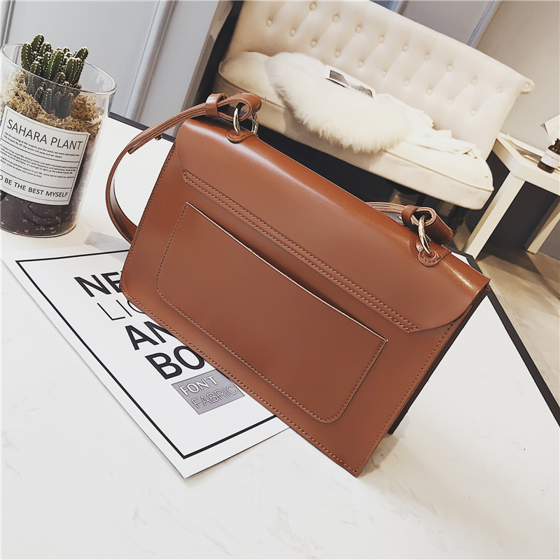 Women's Bags Vintage Lock Women Bag Small Tote Shoulder Handbag Crossbody Bags For Women Messenger Bags High Quality Pu Leather Bolsos Mujer Top-handle Bags