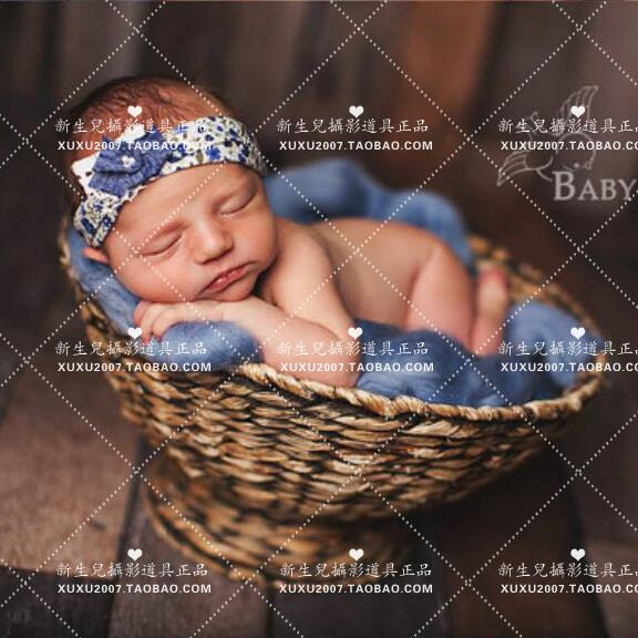 children  Photography  prop  Basket Baby  new pattern  Korean  One hundred days  baby  photograph  modelling  Rushes  Basket children s photography clothing hundred days old baby pictures studio portrait photography suit dress baby z 643