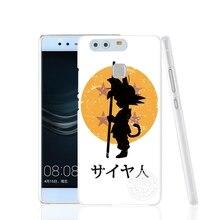 Dragon Ball Z super Goku Cover phone Case for huawei Ascend P7 P8 P9 P10 lite plus G8 G7 honor 5C 2017