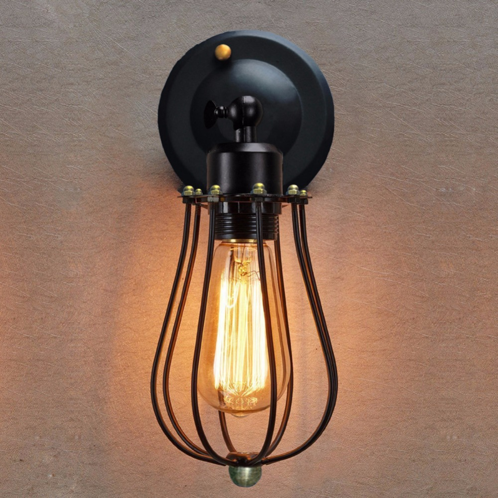 Vintage Wall Lamp Retro Wall Light Loft Luminaire Home Lighting Industrial Wall Sconce Modern 220V Light