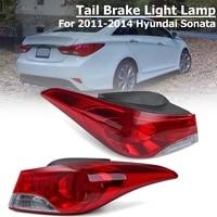 Tail Light Rear Left/Right Halogen Brake Light riving Lamp Backup Tail Fog Lights for 2011 2014 for Sonata for Hyundai Sonata