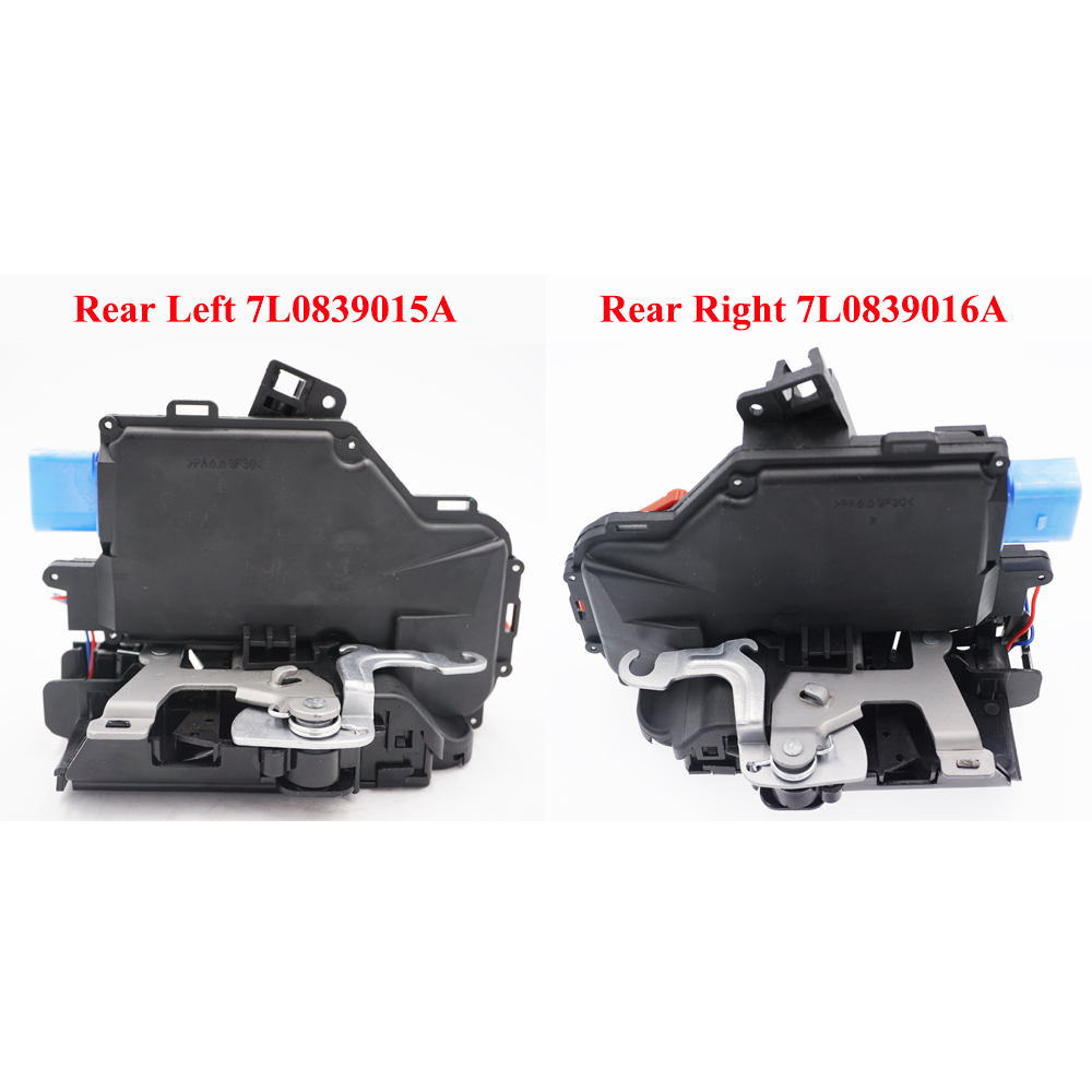 <font><b>2</b></font> PIECES PAIR rear L+R <font><b>Door</b></font> <font><b>Lock</b></font> Actuator For vw <font><b>GOLF</b></font> V VI PLUS JETTA TOUAREG TOURAN SEAT ALTEA XL TOLEDO SKODA OCTAVIA image
