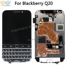"""עבור Blackberry קלאסי Q20 LCD תצוגת מסך מגע Digitizer עצרת 720x720 עבור 3.5 """"BlackBerry Q20 LCD"""