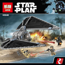 NEW LEPIN 05048 543pcs Fighter against the empire Model Building blocks Bricks Classic Compatible 75154 Boys Gift