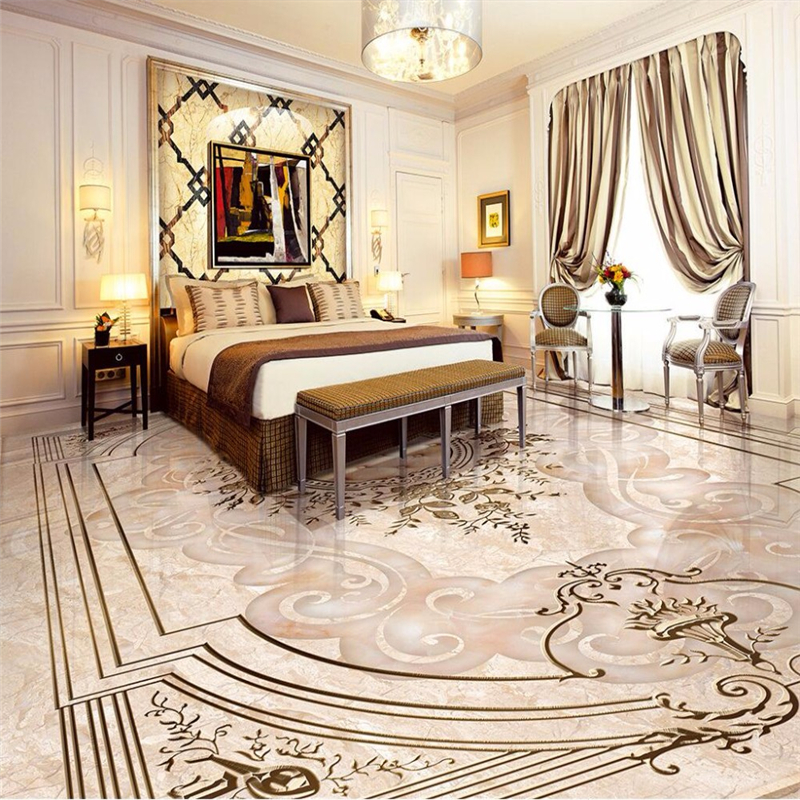 beibehang Custom photo wallpaper mural wall paper European jade relief 3D self adhesive wallpaper floor tiles papel de parede beibehang custom papel de parede 3d floor wallpaper self adhesive living room bedroom bathroom floor mural photo wall paper roll