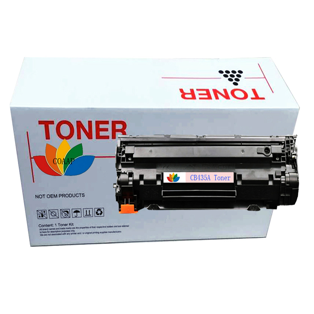 Free Shipping CB435A 35A Compatible <font><b>Toner</b></font> Cartridge For <font><b>HP</b></font> LaserJet P1005 <font><b>P1006</b></font> Black (2000 Pages) image