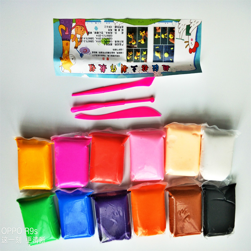 Lama de Cristal Transparente Magia Plasticina Brinquedos
